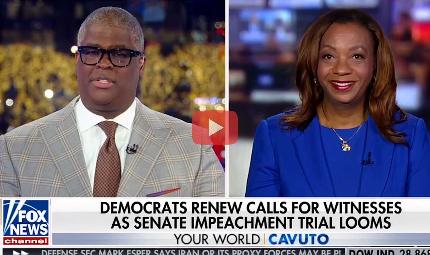 Democrats Call for Impeachment Witnesses