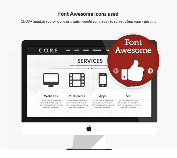 Core - OnePage WordPress - 16