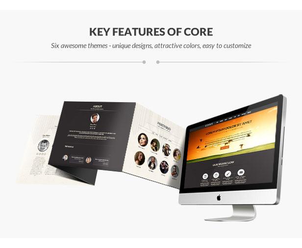 Core - OnePage WordPress - 8