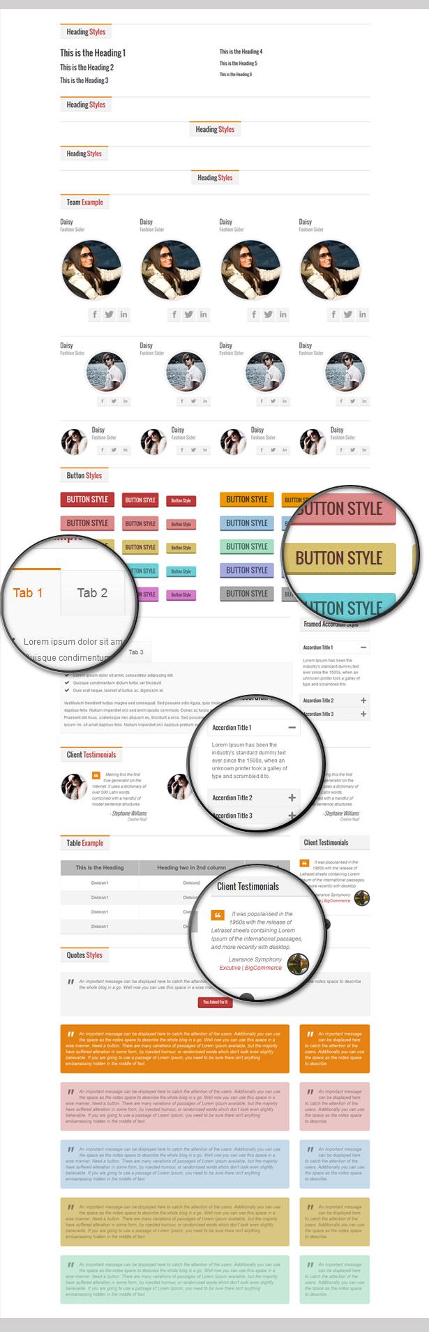 Elegant Business - Responsive HTML - 7