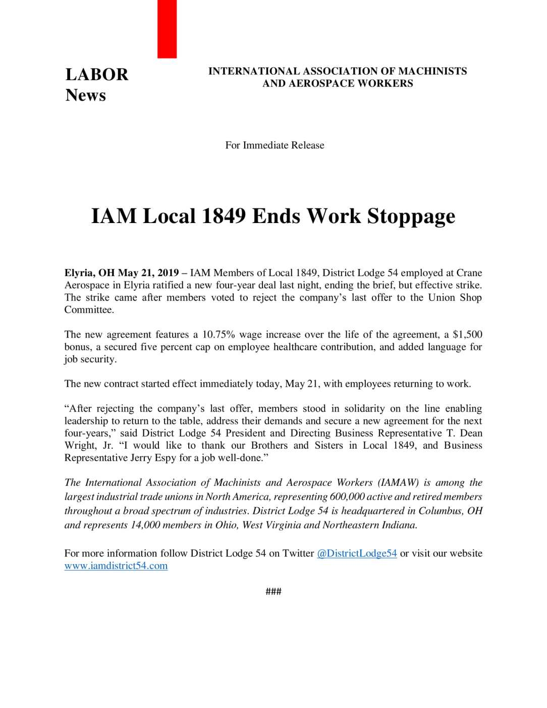 IAM Local 1849 Ends Work Stoppage-1.jpg