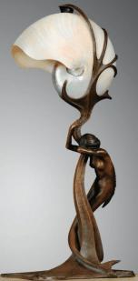 Gustav Gurschner, lamp