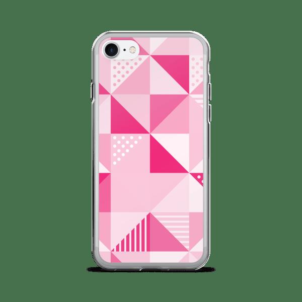 Pink Geometric iPhone 7 Plus Case