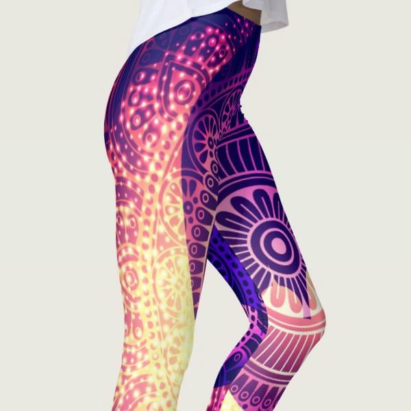 Dreamy Moonlit Yoga Leggings