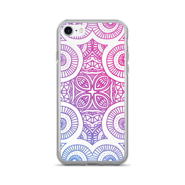 Abstract Gradient Mandala iPhone 5/6/7/8/X Case