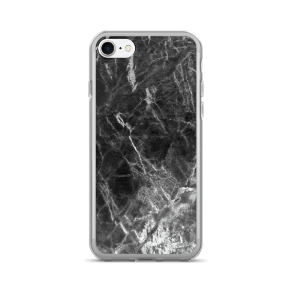 Marble Rock Icy Black iPhone 7/7 Plus Case