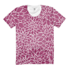 Abstract Leafy Purple Women's t-shirt