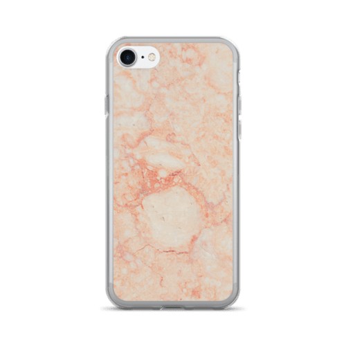 Marble Rock Pink Flesh Tone Texture iPhone 7/7 Plus Case