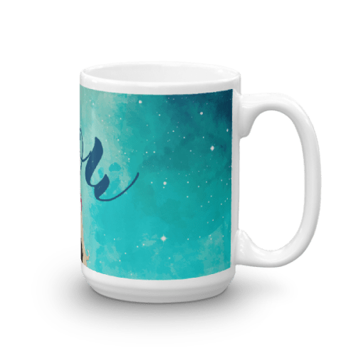Wow Starry Girl Mug