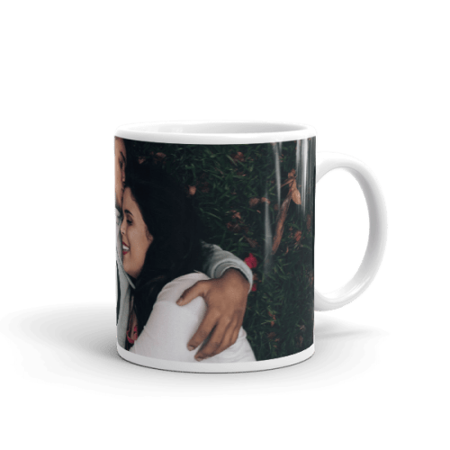 Loving Interracial Couple Mug