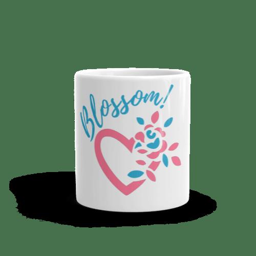 Blossom My Heart Blue/Pink Mug