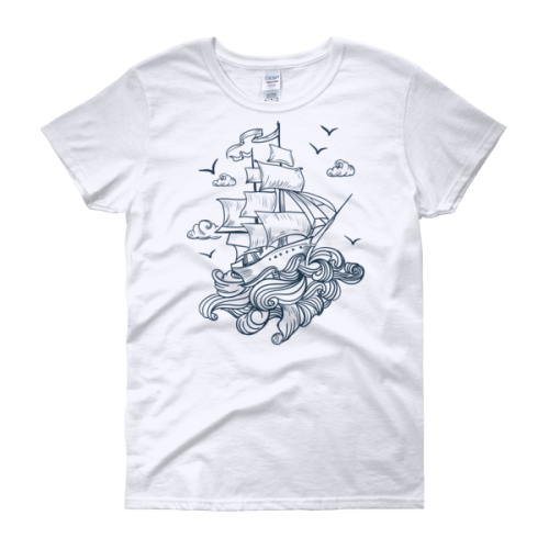 Let's Set Sail Women's t-shirt