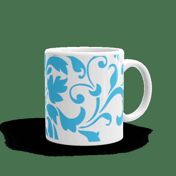 Blue Ornamental Mug