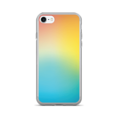 Gradient Yellow and Blue Hue iPhone 7/7 Plus Case
