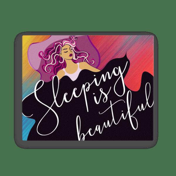 Sleeping is Beautiful Canvas Wall Art