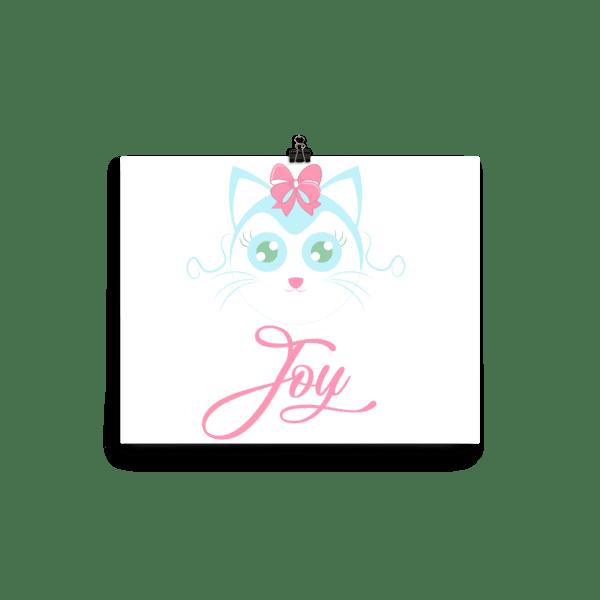 Joyful Cat Poster