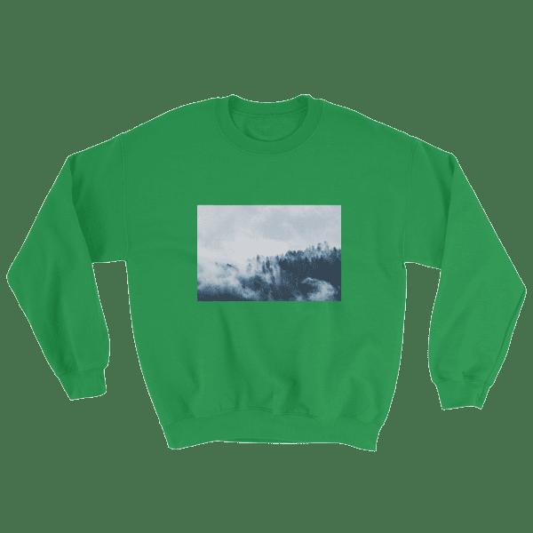 Snowy Plains Photographic Sweatshirt