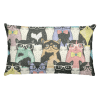 Cat Geeks Colorful Pattern Rectangular Pillow