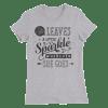 She Leaves Sparkles Women's Slim Fit T-Shirt