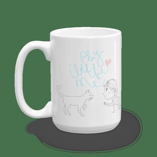 Play With Me Cat Mug