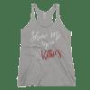 Show Me Your Kitties Women's Racerback Tank