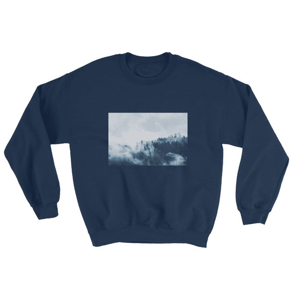Snowy Plains Photographic Sweatshirt