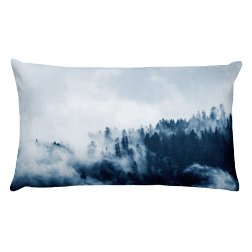Forest Deep Rectangular Pillow