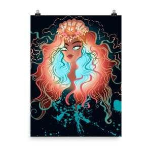 Wicked Belle Art Print