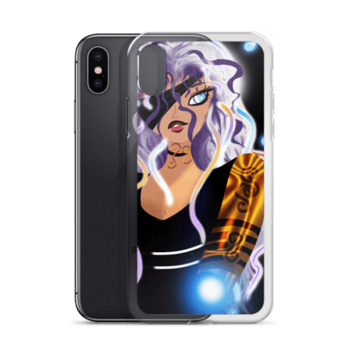 Midnight: Bionic Rise iPhone Case