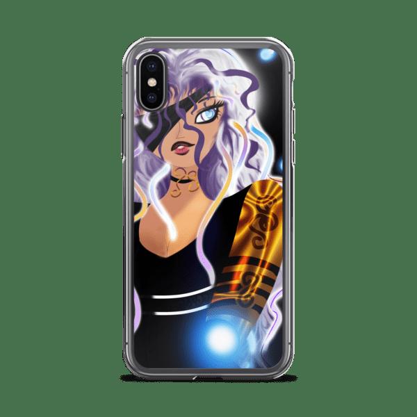 Midnight: Bionic Rise iPhone Case