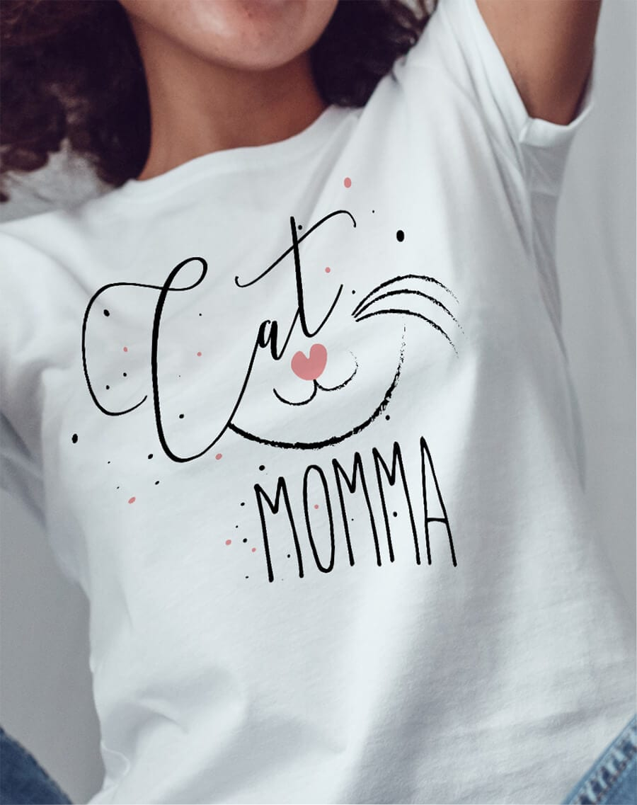 Cat Mama Unisex T-Shirt