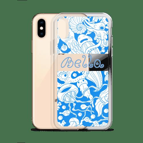 Personalized Kawaii Cnidarians Sea Adventure iPhone Case