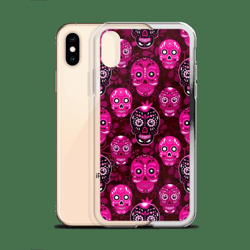 Death Candy Skulls iPhone case – iPhone 6 case, iPhone 8 case, iPhone X case