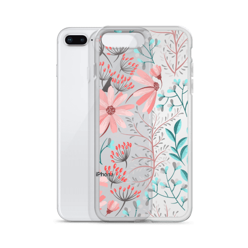 Floral Watercolor Lilac iPhone Case