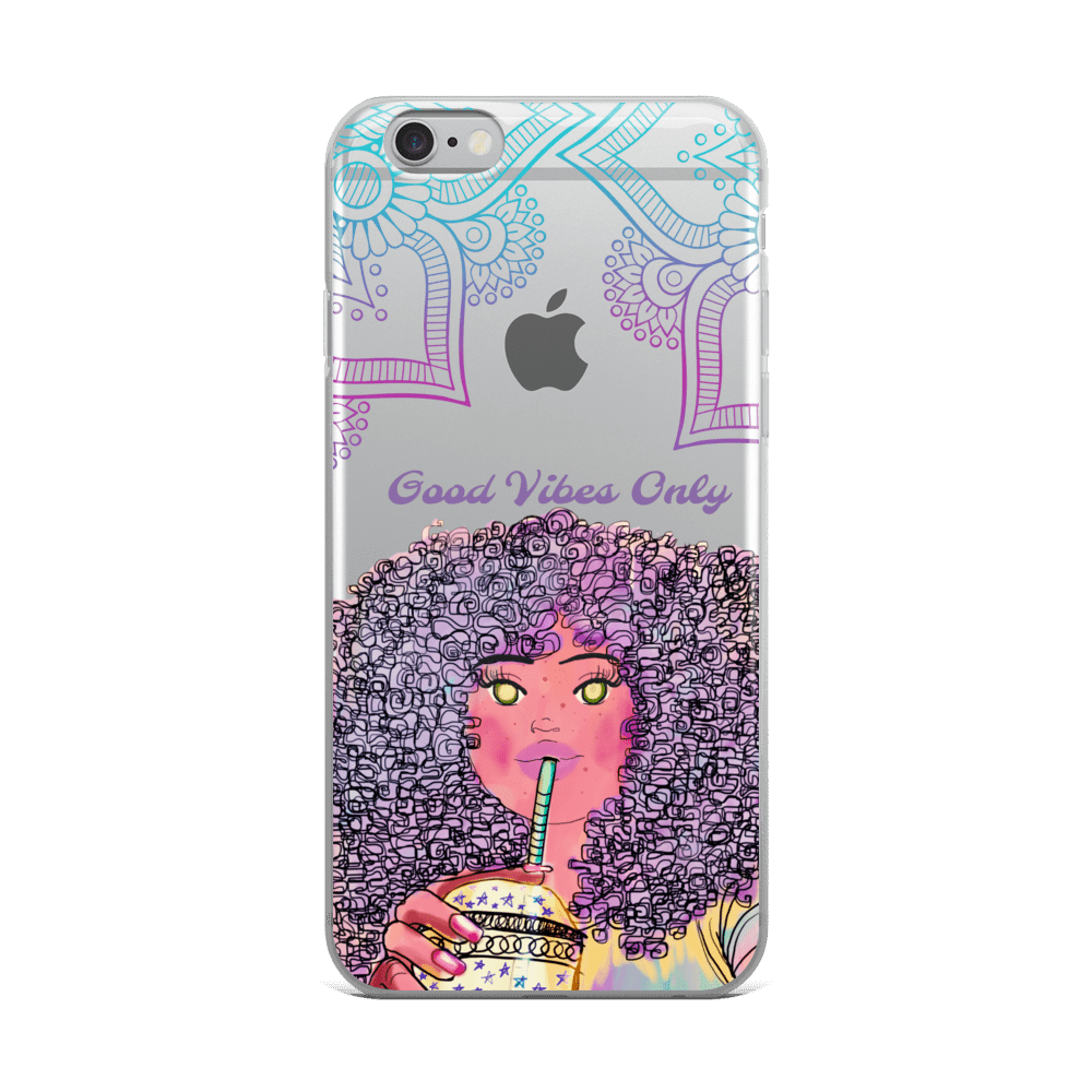 Sip Sip Good Vibes Only iPhone Cases 6s - XS Max