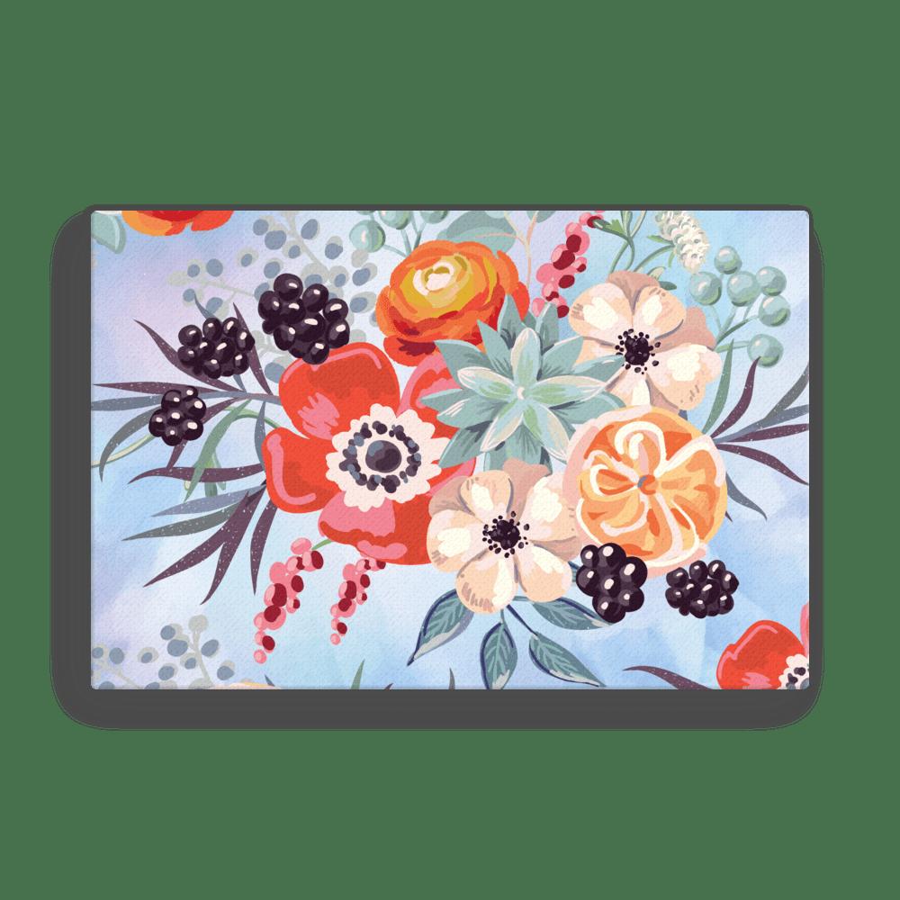 Watercolor Blanket Flowers Wall Art Canvas