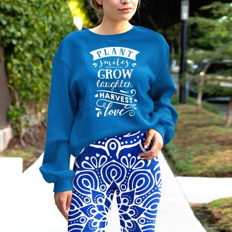 Aqua Blue Crush Mandala Leggings, printed blue aqua mandala leggings for women, printed womens leggings, floral mandala leggings, bohemian chic,
