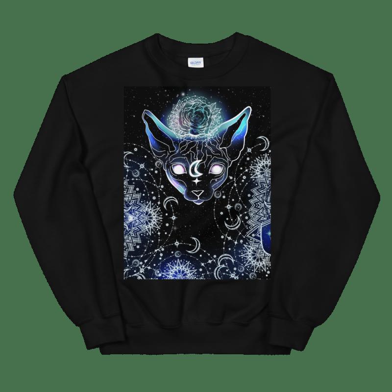 Celestial Magical Sphynx Cat Sweatshirt