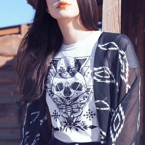 Butterfly Death Skull Savior Reloaded T-Shirt