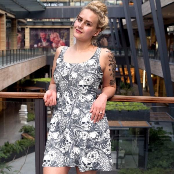 Skull Paradise Skater Dress