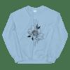 Bearded iris flower Sweatshirt For Women