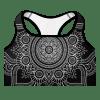 mockup-Black Bohemian Queen of Queens Mandala sports bra.png