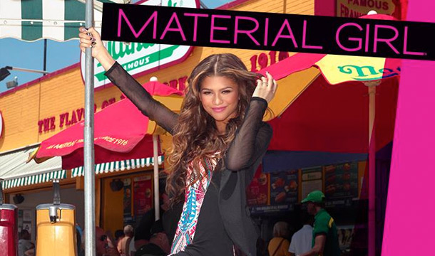 Zendaya-Coleman-Named-New-Face-of-Material-Girl