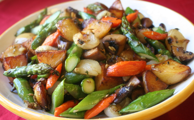 Sauteed or Roasted Vegetables