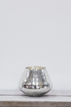 AKEMI GLASS CANDLE HOLDER MEDIUM - £25.00