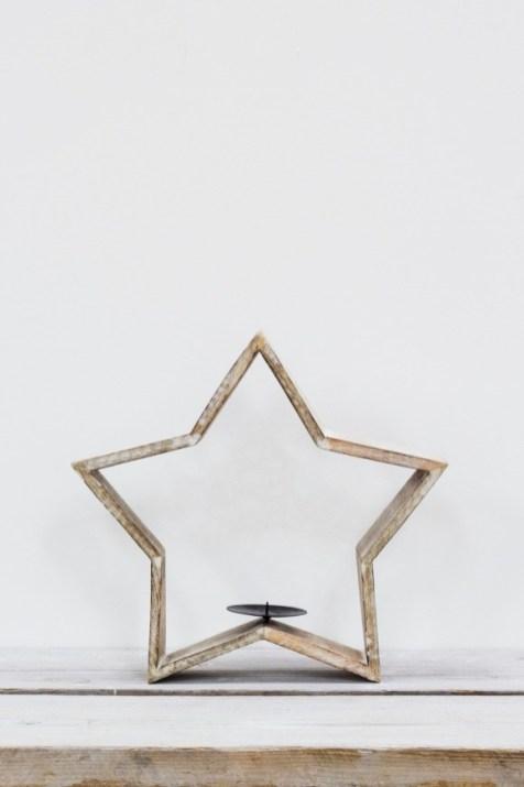 TINDRA TEALIGHT STAR LARGE - £25.00