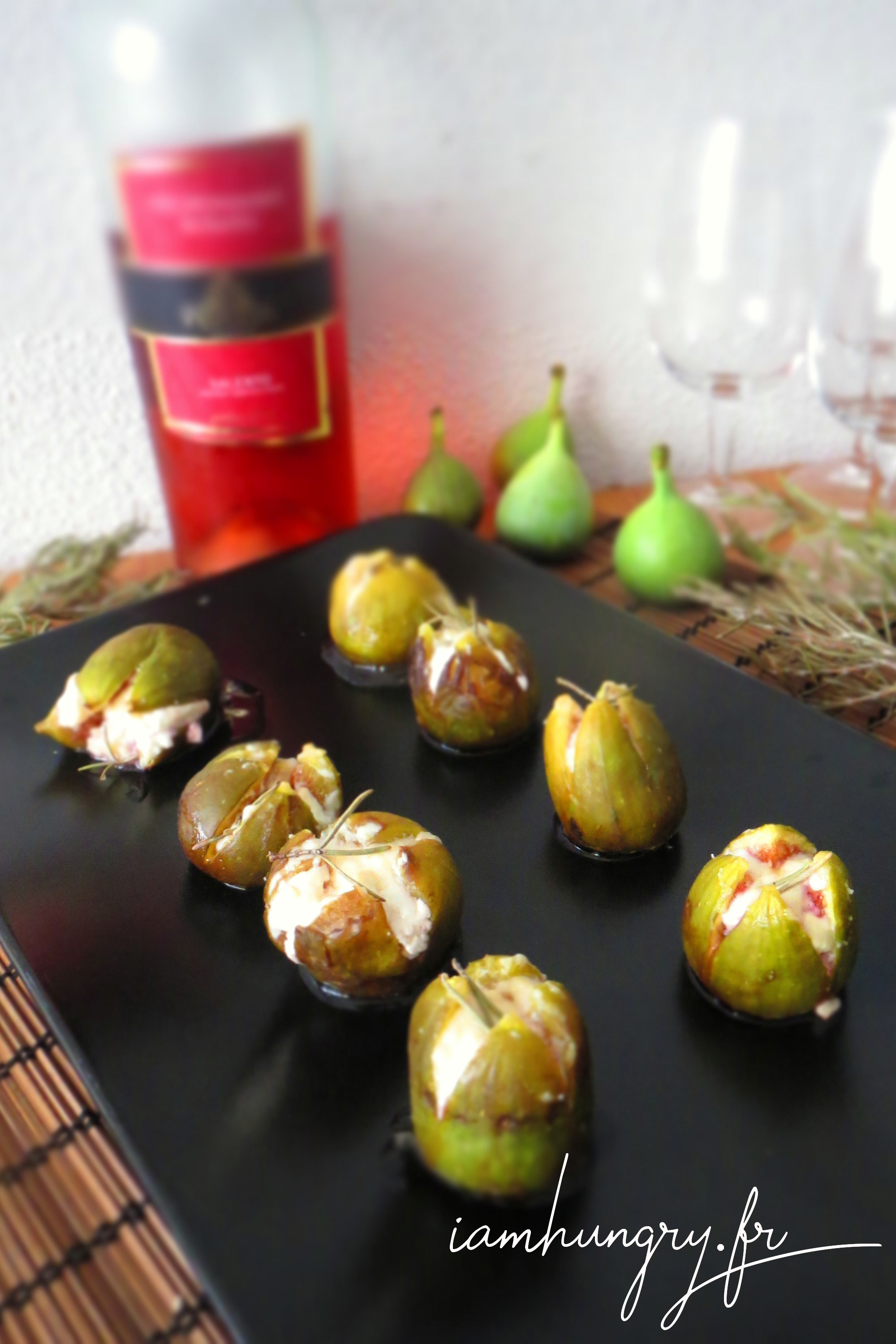 Figues Farcies Au Chvre Miel Et Romarin IAMHUNGRY