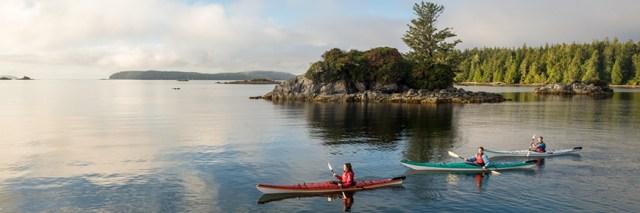 Camping in the Broken Group Islands