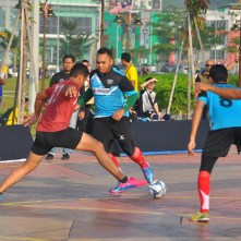 A futsal tournament to strengthen ties among tiger conservation stakeholder agencies