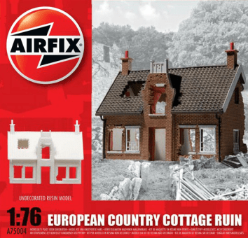 European Country Cottage Ruin